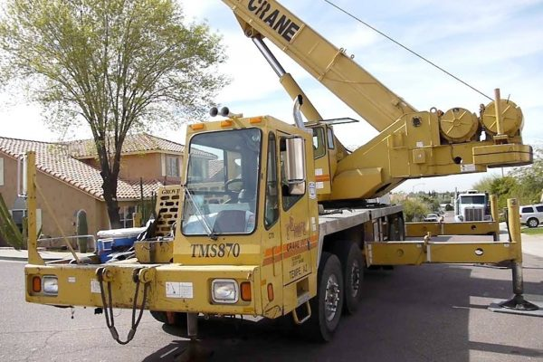 Rental Truck Crane Jakarta