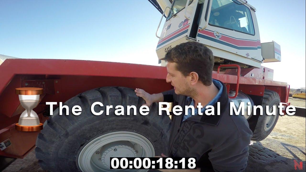 Crane Rental Minute E1 - Rough Terrain Crane