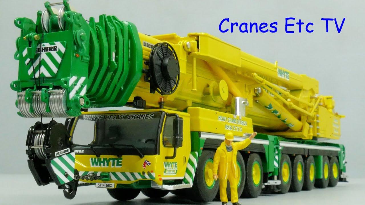 WSI Liebherr LTM 1500-8.1 'Whyte Crane Hire' by Cranes Etc TV