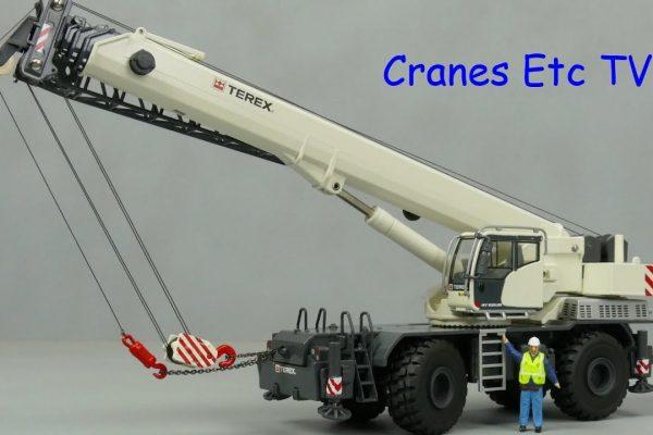 Conrad Terex RT 100US Rough Terrain Crane by Cranes Etc TV