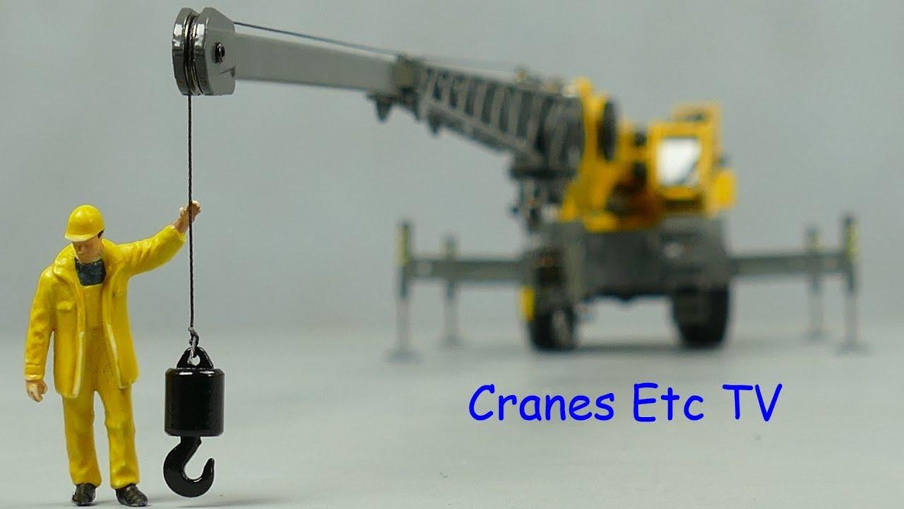 Conrad Grove GRT8100 Rough Terrain Crane by Cranes Etc TV